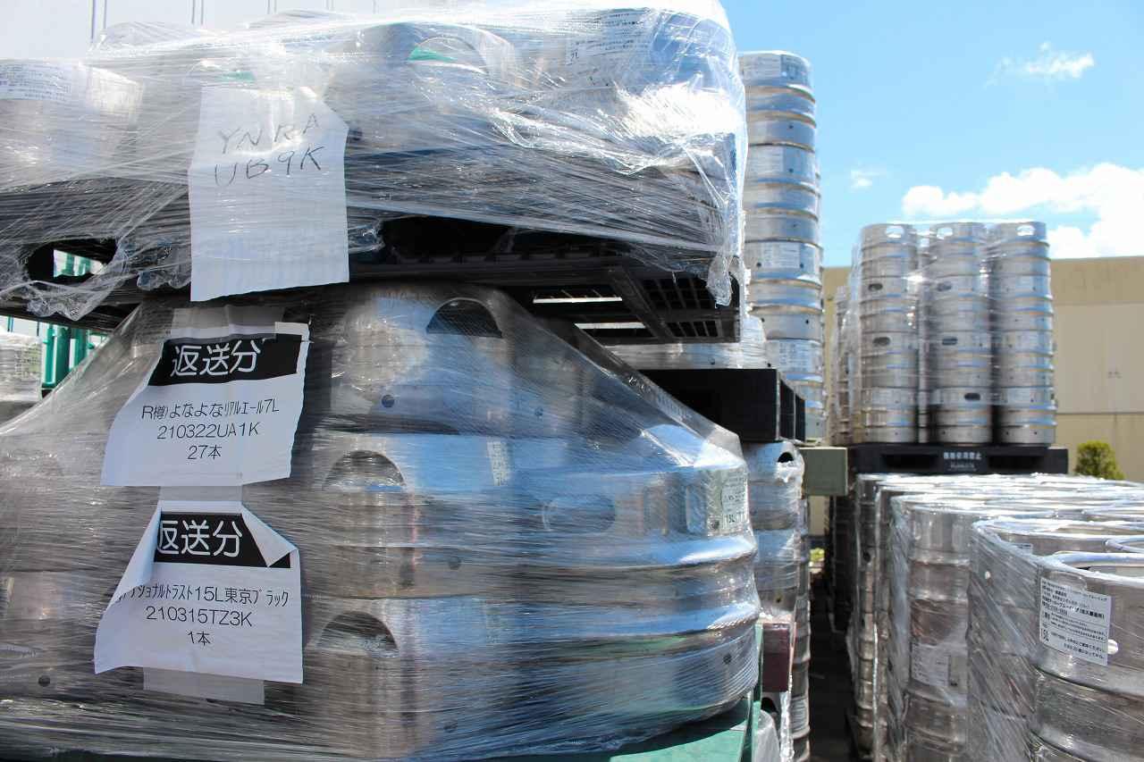 画像1: 2021年春の緊急事態宣言によって、約6,000L(400樽分)のビールが余剰在庫に