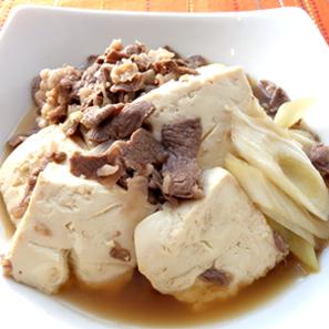 画像: 肉豆腐(糖質オフ推奨レシピ) レシピ 株式会社にんべん