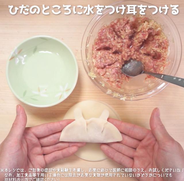 画像6: 【相模原病院管理栄養士 朴先生のコメントつき】ご飯もりもり!可愛すぎて食べられない!?ウサギさん餃子