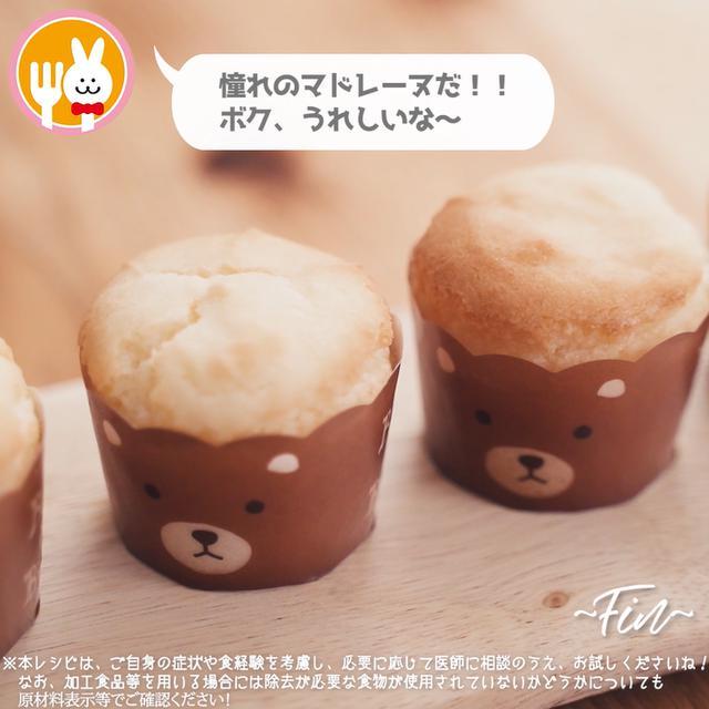 画像10: 小麦・乳・卵不使用!マドレーヌ