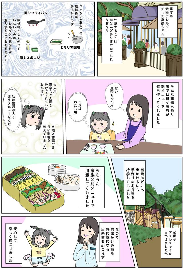 画像1: 真奈ちゃんが遊園地は夜しかいかなくなった理由