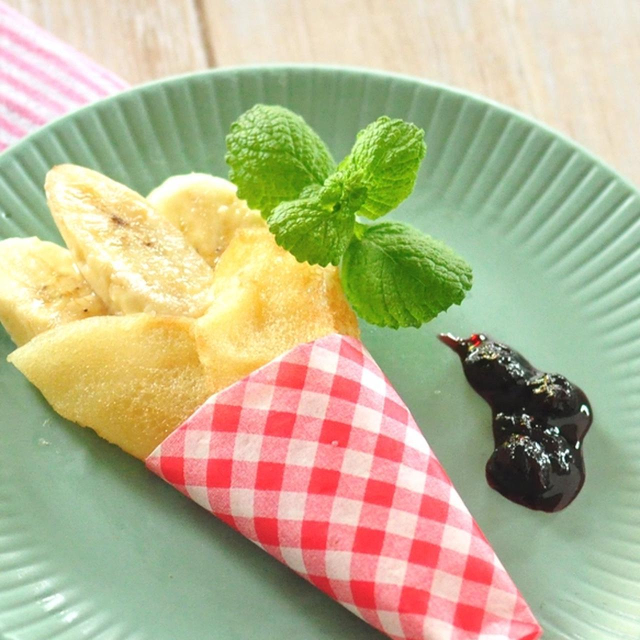 画像: もっちり食感!米粉のバナナクレープ - 君とごはん