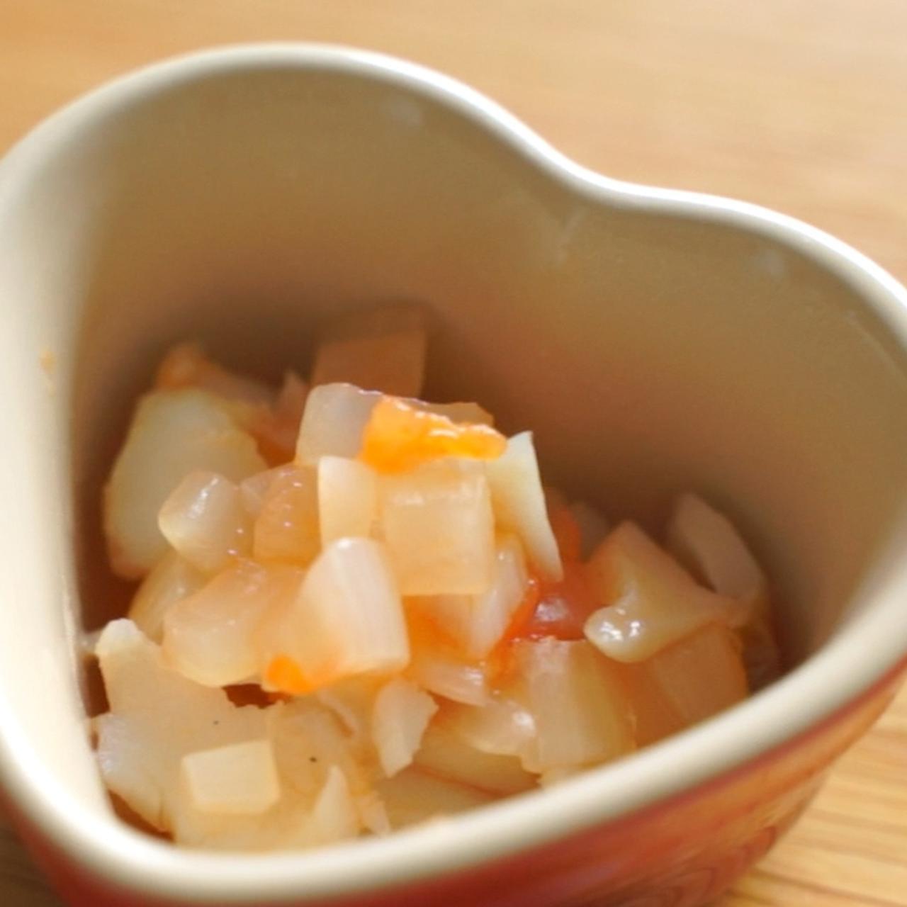 画像: 離乳食 完了期レシピ!タラのトマト煮 - 君とごはん