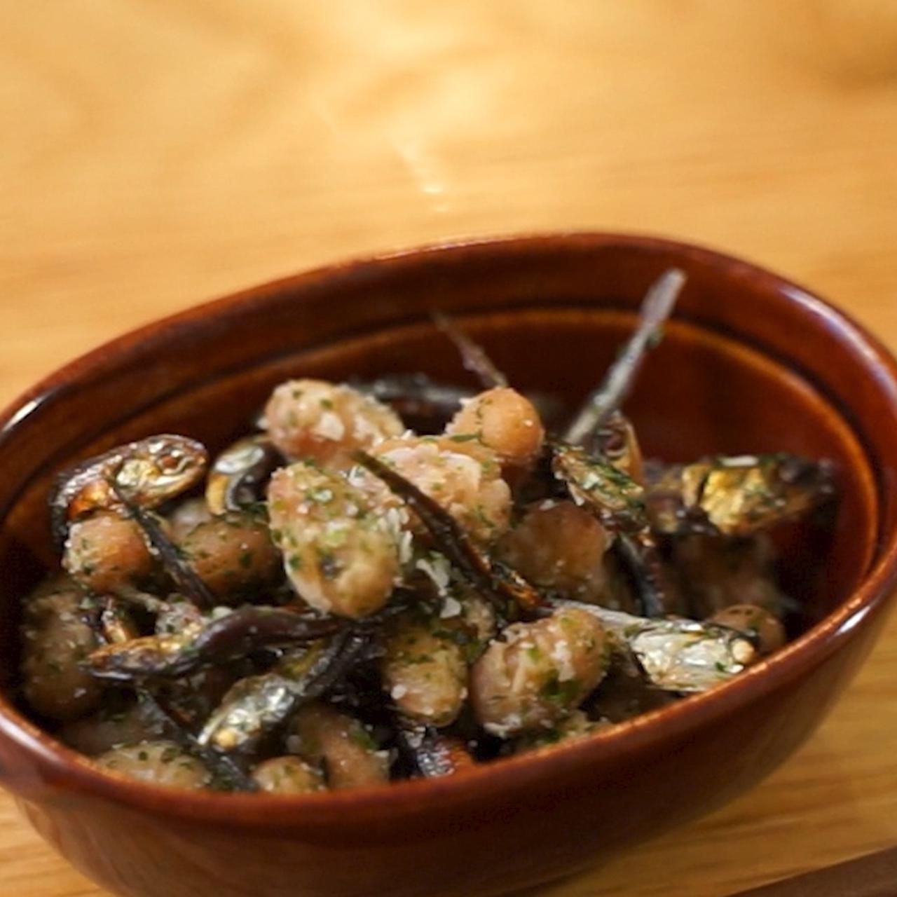画像: 給食の味♪大豆と小魚ののり塩風味 - 君とごはん