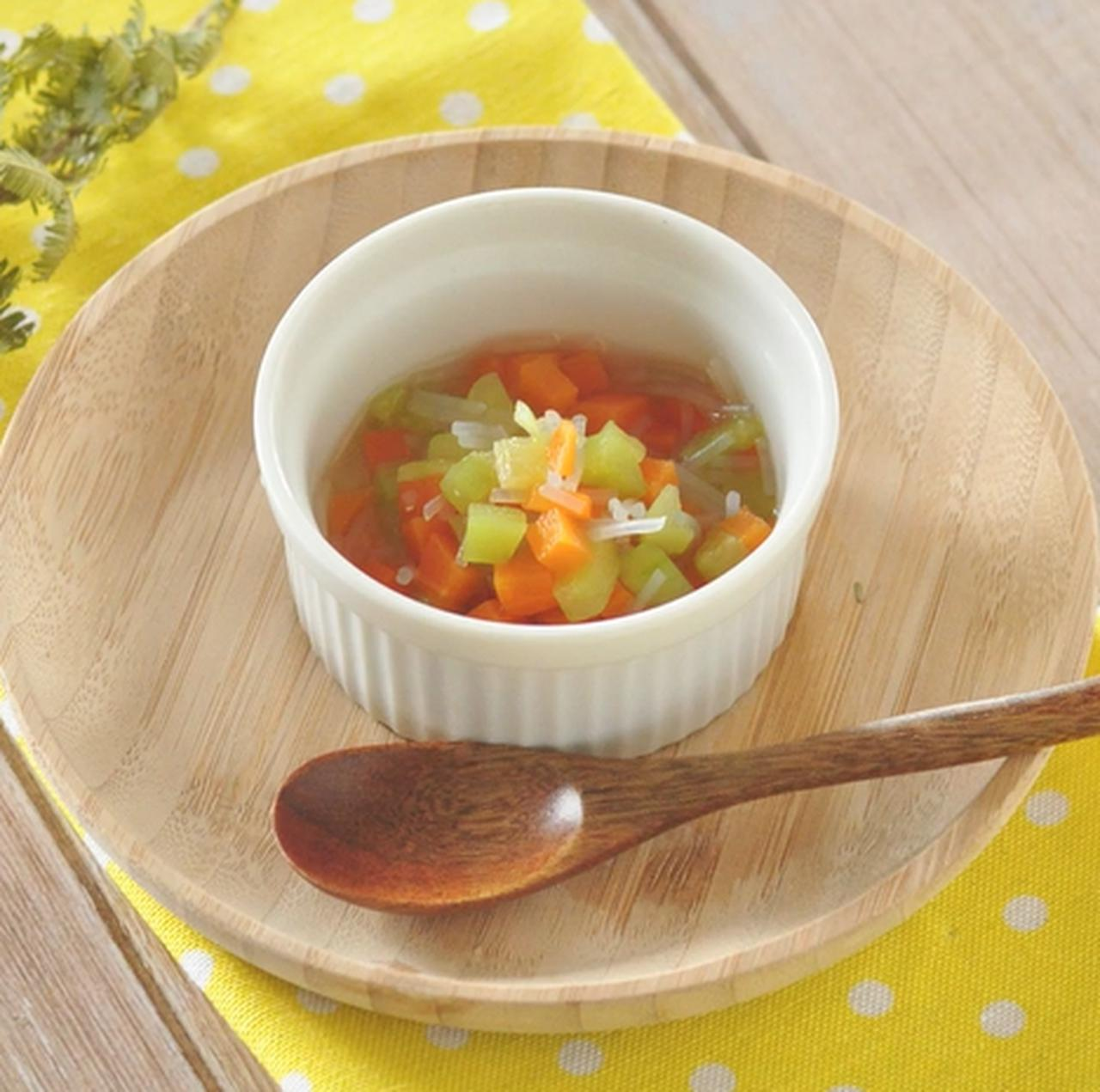 画像: 離乳食 中期レシピ!きゅうりと春雨の煮物 - 君とごはん