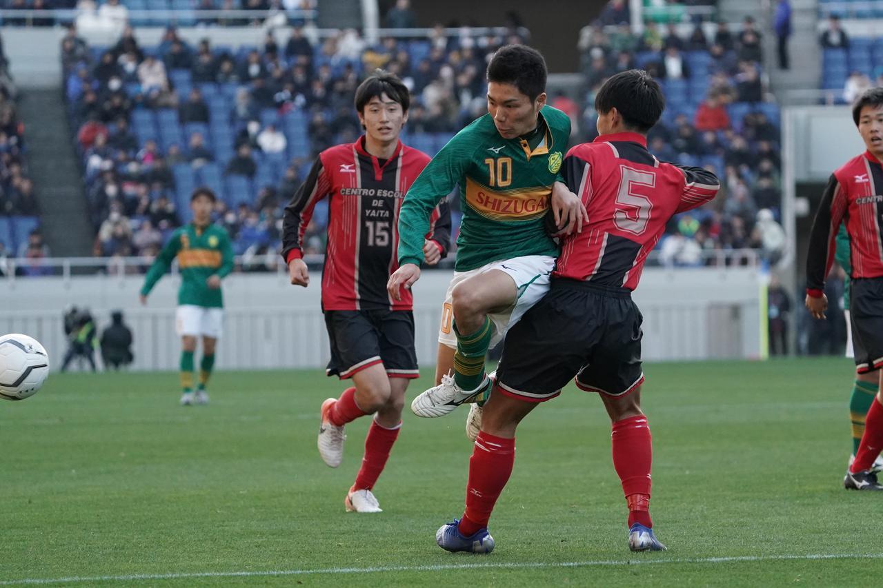 Images : 4番目の画像 - 静岡学園が試合終了直前に矢板中央の堅守を破り、決勝進出(写真◎小山真司、福地和男) - サッカーマガジンWEB