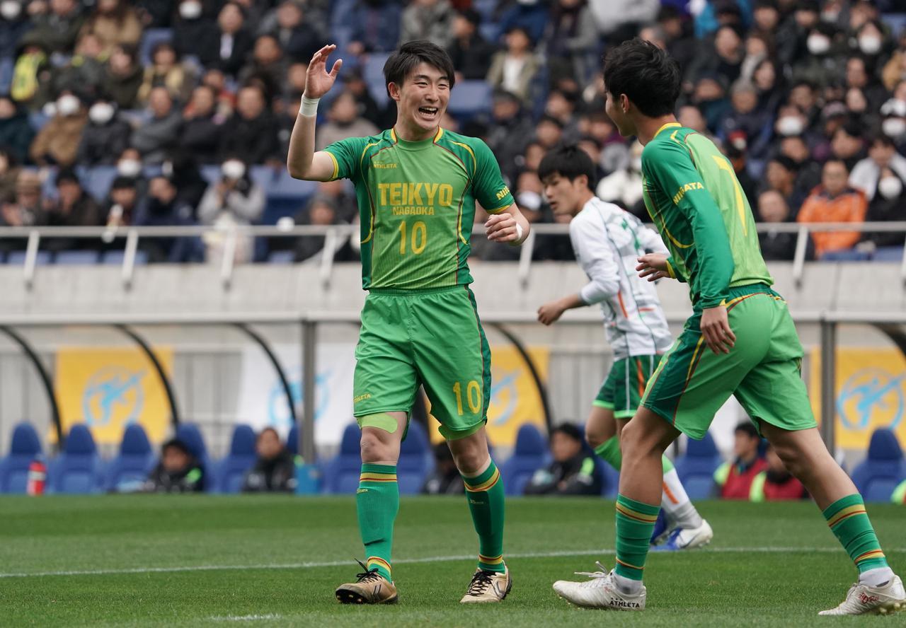画像: 【準決勝】帝京長岡FW晴山岬の決意「プロで輝けるように頑張りたい」 - サッカーマガジンWEB