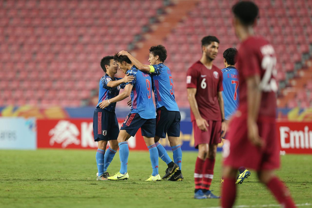 Images : 2番目の画像 - 不運な判定に苦しみながらも小川のゴールで先制。だが、日本はまたも勝ち切れなかった - サッカーマガジンWEB