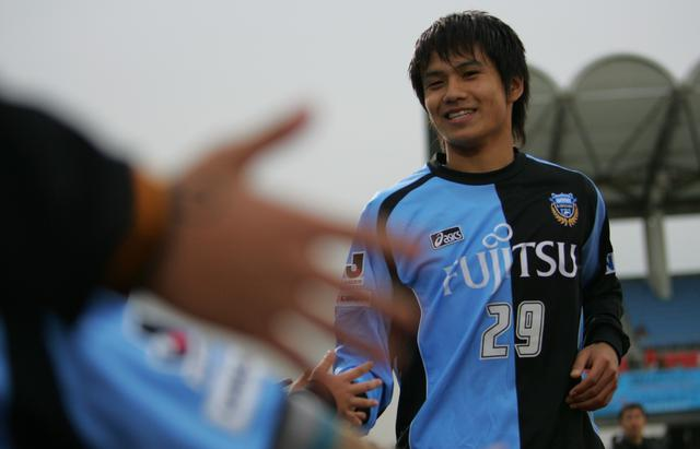画像: 2004年に川崎フロンターレに加入。2006年にはJ1で13点を挙げた(写真◎J.LEAGUE)