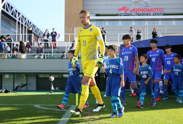 画像: 現在21歳のGK波多野。昨季はF東京23でJ3リーグに23試合出場(写真◎J.LEAGUE)