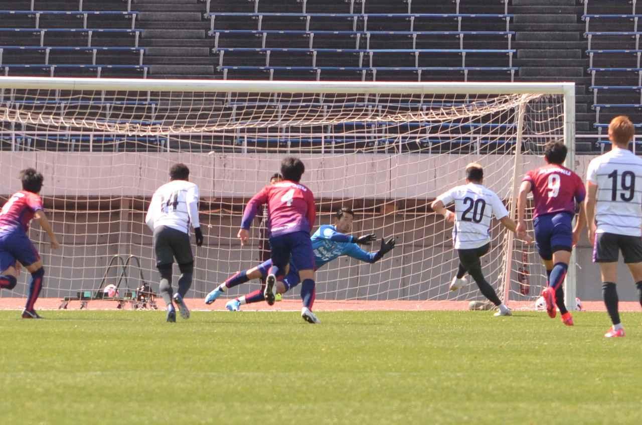 Images : 4番目の画像 - 広島と岡山の練習試合は、両チームにPKストップも(写真◎石倉利英) - サッカーマガジンWEB