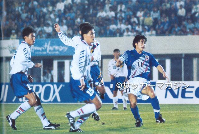 画像: カズの得点で先制しながら韓国に逆転負け。アジア大会は8強で敗退した(写真◎サッカーマガジン)