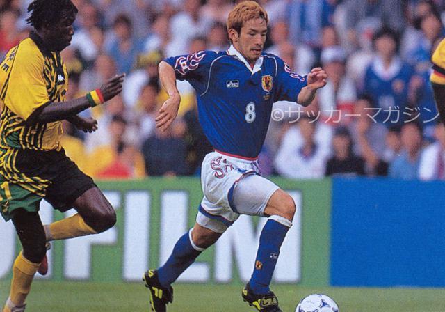 画像: フランスW杯のGS第3戦のジャマイカ戦は1-2で敗れた。写真は中田英寿(写真◎サッカーマガジン)