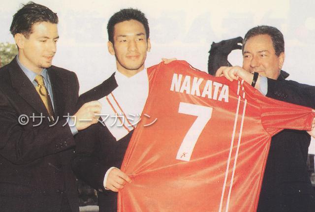 画像: ワールドカップ後、中田英寿はセリエAのペルージャに移籍した(写真◎サッカーマガジン)