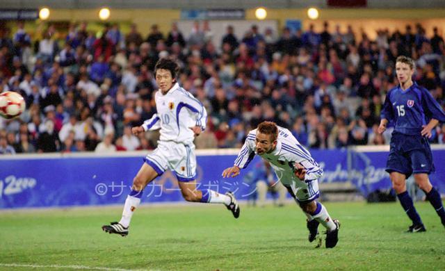 画像: シドニーオリンピックで日本は2勝1敗でグループステージを突破し、準々決勝に進出した(写真◎サッカーマガジン)