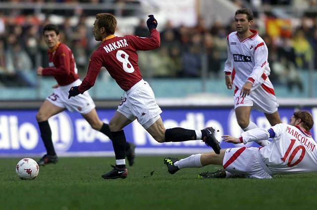 画像: コンフェデ杯から戻った中田はローマでセリエA優勝を経験した(写真◎Getty Images)