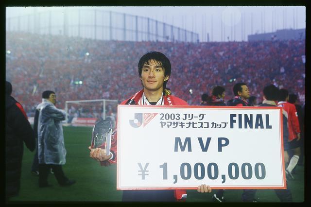 画像: JリーグカップのMVPとニューヒーロー賞をダブル受賞した浦和の田中達也(写真◎J.LEAGUE)