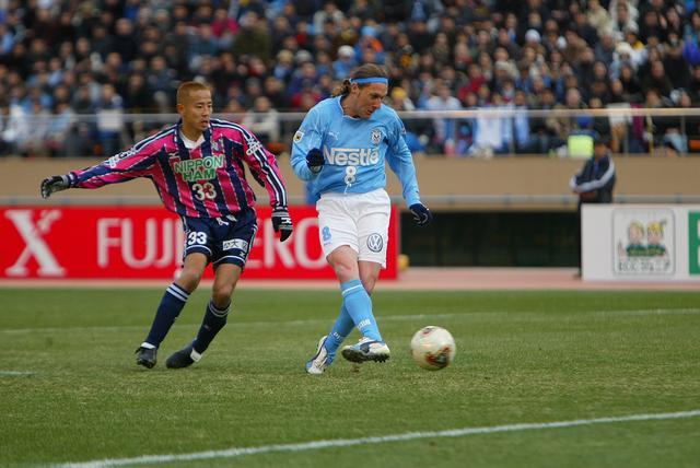 画像: グラウの得点で均衡を破った磐田がセレッソ大阪を破り、天皇杯に優勝(写真◎サッカーマガジン)