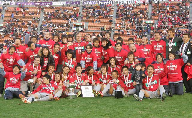 画像: 鹿島は天皇杯も制して見事に二冠を達成した(写真◎サッカーマガジン)