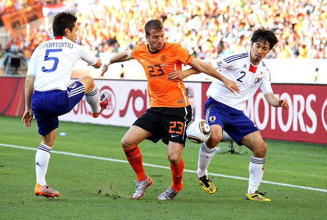 画像: 第2戦のオランダ戦は0-1と惜敗。第3戦に臨みをつなげた(写真◎Getty Images)