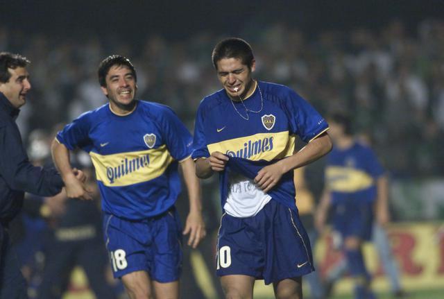 画像: リベルタドーレスカップはパルメイラスをPK戦の末に下し、優勝。リケルメ(右)はチームの中心として優勝に大きく貢献した(写真◎Getty Images)