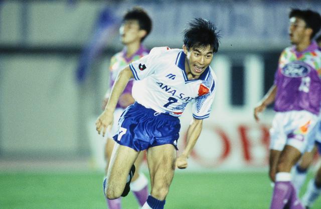 画像: 横浜フリューゲルス時代(1992-1993)/写真◎J.LEAGUE