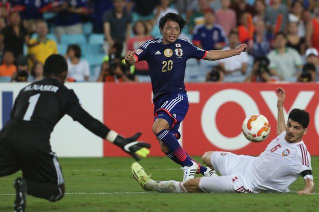 画像: アジアカップのベスト16、UAE戦は柴崎岳の得点で1-1としたが、PK戦で敗れ、敗退した(写真◎Getty Images)