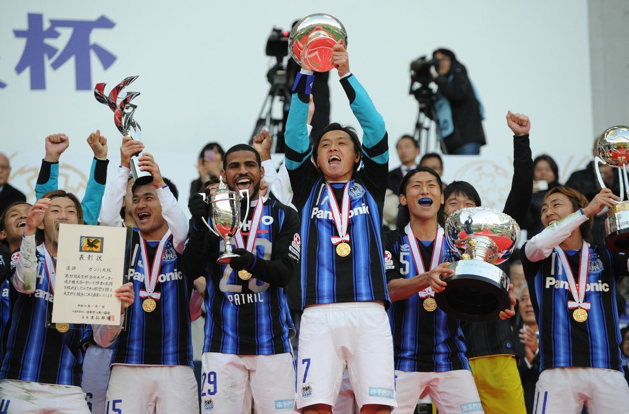 画像: 天皇杯はG大阪が連覇を果たした(写真◎Getty Images)