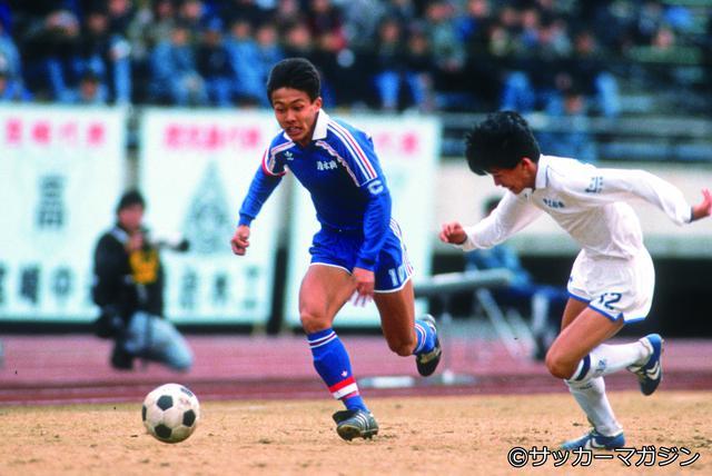 画像: 三浦文丈(清水商業高校)