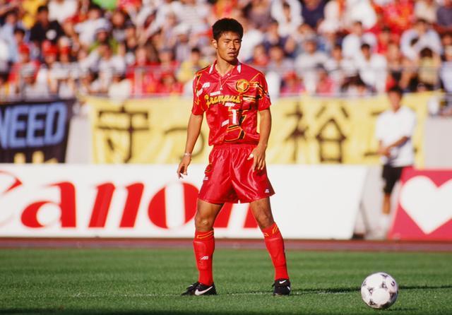 画像: 名古屋グランパスエイト時代(1993,94-99)/写真◎J.LEAGUE