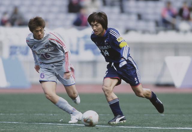画像: 横浜F・マリノス時代(2002-06)/写真◎J.LEAGUE