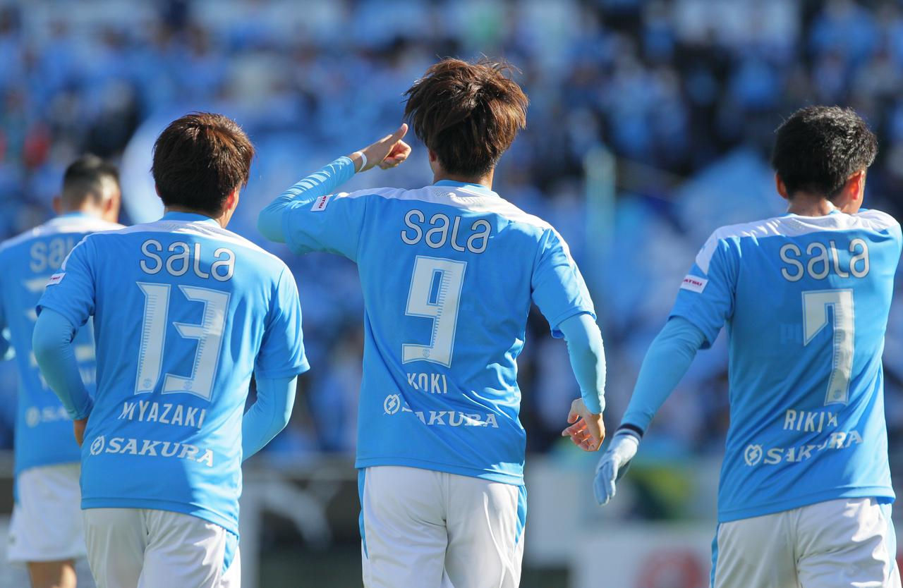 画像: 今季は磐田でストライカーの背番号、9番を背負う(写真◎J.LEAGUE)