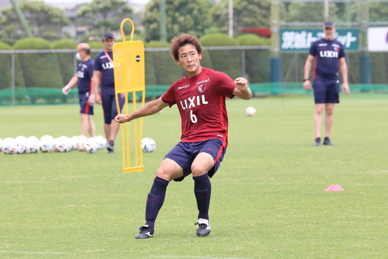 Images : 1番目の画像 - 永木は「コンディションは上がっている」と語った(写真◎鹿島アントラーズ) - サッカーマガジンWEB