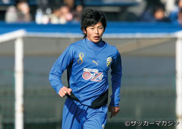 画像: 谷口彰悟(大津高校)