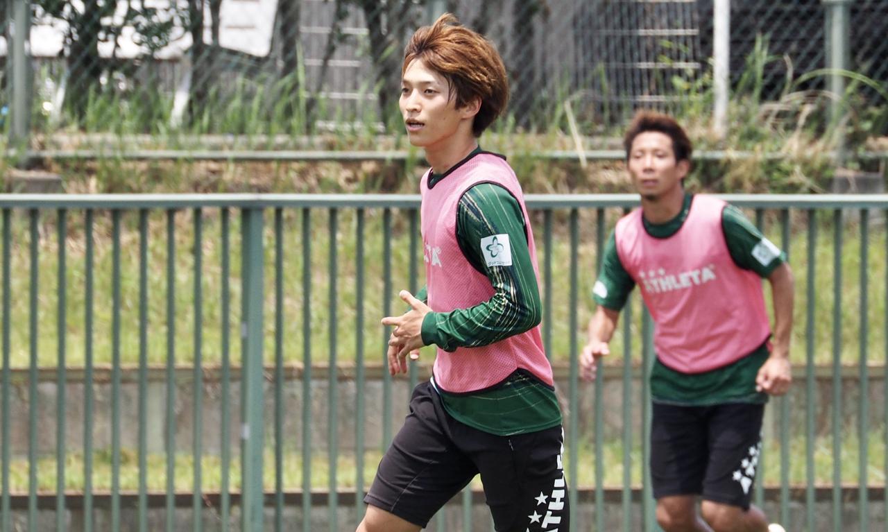 画像: 井上潮音は「数字を残したい」と決意のシーズンに臨む 写真◎東京ヴェルディ