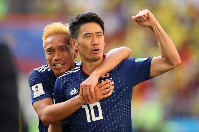 画像: コロンビア戦で先制PKを決め、チームを乗せた香川(写真◎Getty Images)