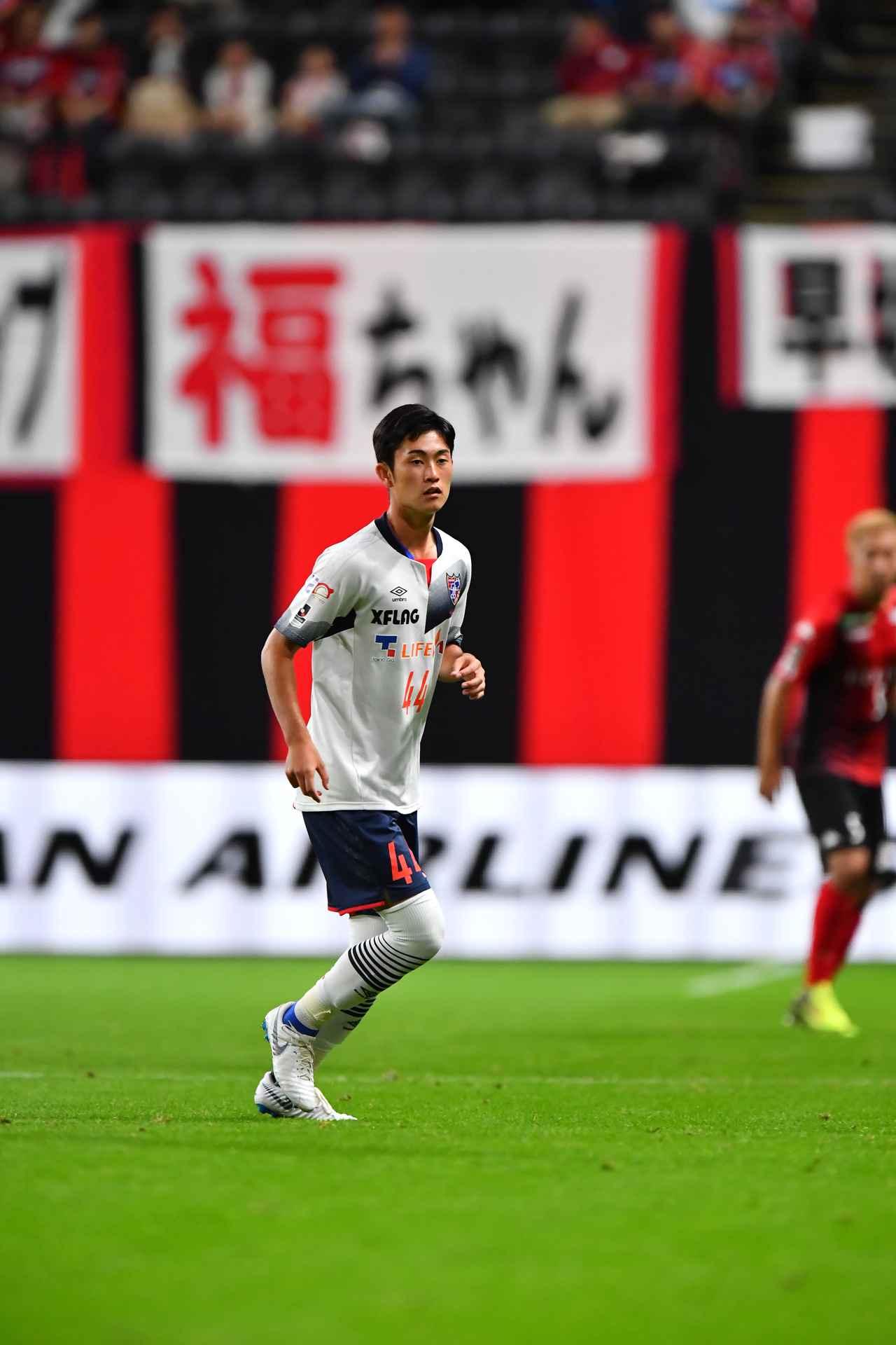 Images : 1番目の画像 - これまで唯一のJ1でのプレーは6分のみ。2018年、アウェーの札幌戦だった(写真◎J.LEAGUE) - サッカーマガジンWEB