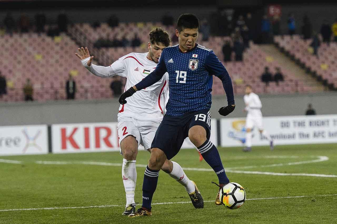 Images : 1番目の画像 - 小松蓮は年代別日本代表にも選出され、2018年にはAFC・U-23選手権を戦った(写真◎Getty Images) - サッカーマガジンWEB