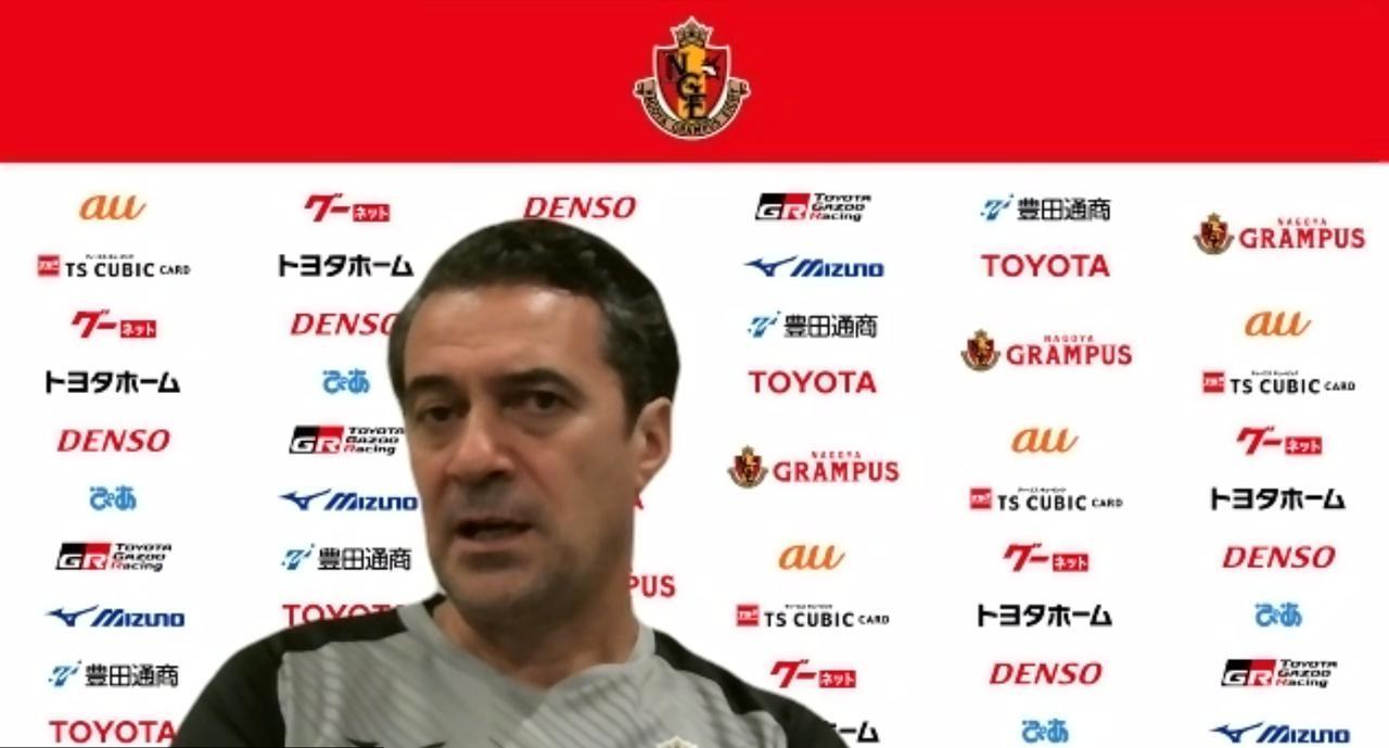 Images : 1番目の画像 - 次節の相手、G大阪については「ものすごく強いチームと戦う意識でいる」と妥協はない(写真◎スクリーンショット) - サッカーマガジンWEB