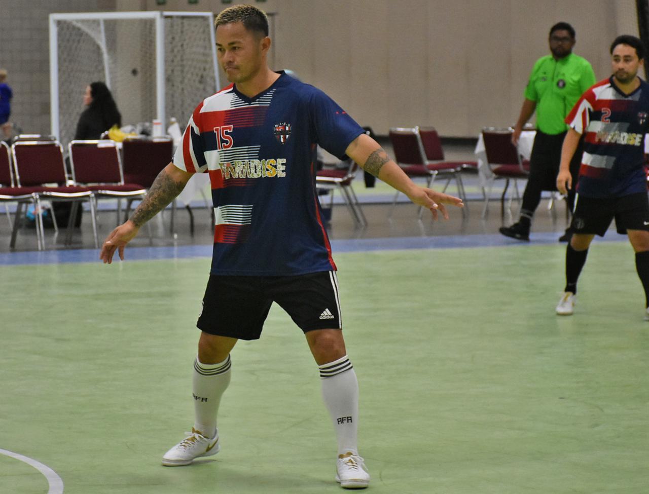 画像: アメリカでプロサッカー選手の経験もあるマジェール