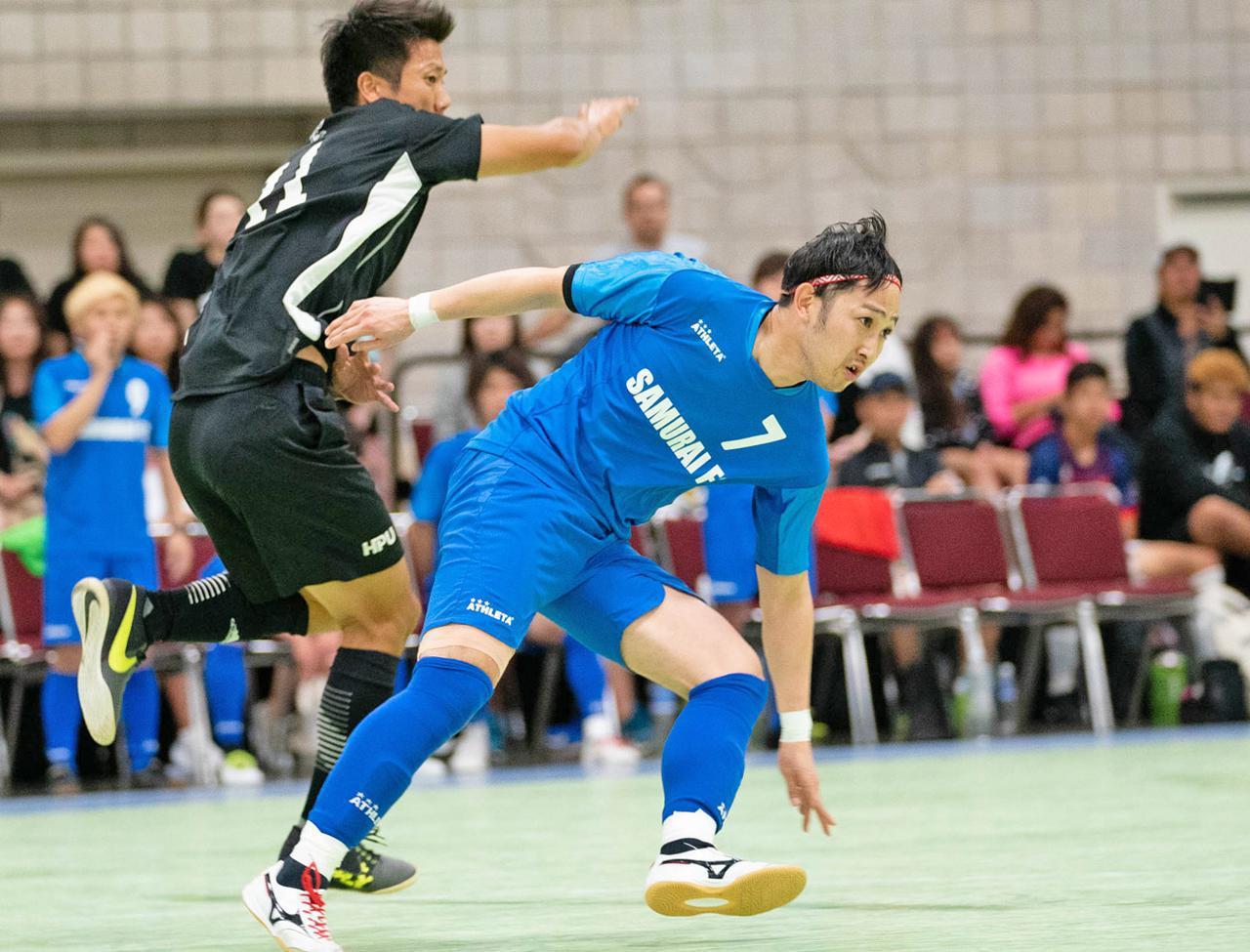 画像: 決勝で鮮やかなボレーなど2ゴールで優勝を引き寄せた菊地智樹