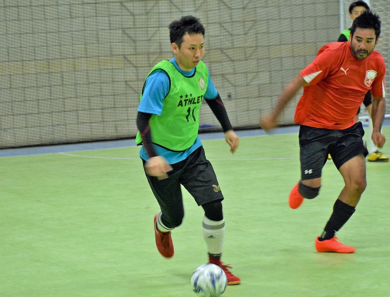 画像: 日本から個人参加でプレーした三田さん