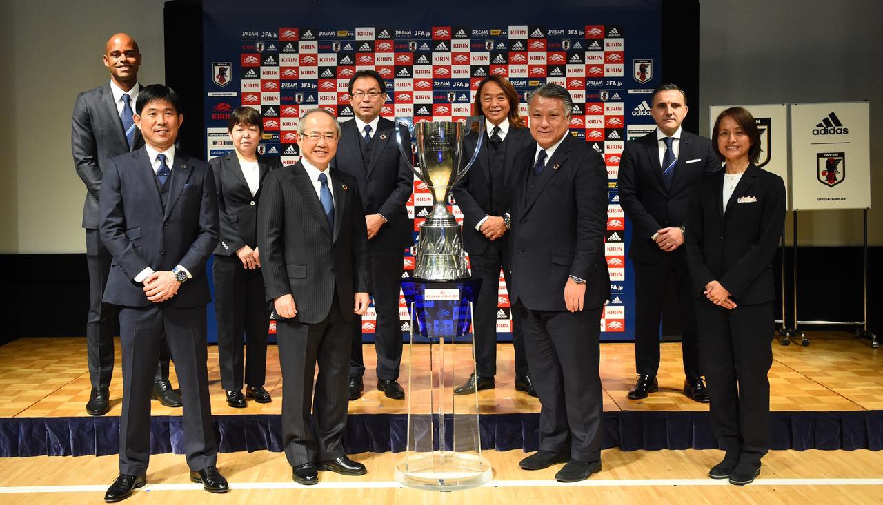 Images : 1番目の画像 - 「日本代表 2021強化方針・年間スケジュール記者発表」の登壇者(写真◎JFA) - サッカーマガジンWEB