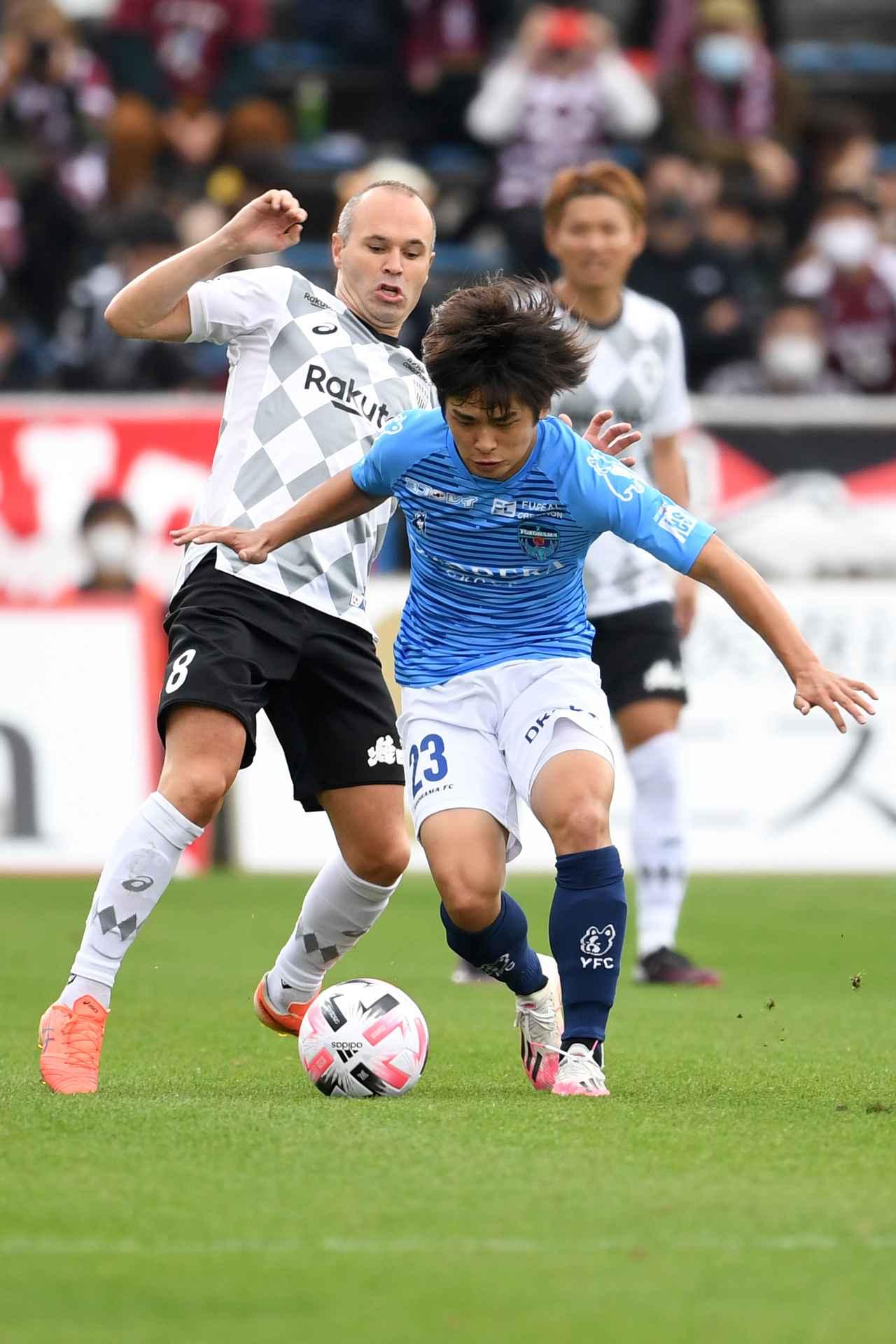 Images : 1番目の画像 - イニエスタのような一流選手と肩を並べるために。斉藤光毅はエネルギッシュなドリブルでヨーロッパの舞台を戦い抜く(写真◎Getty Images) - サッカーマガジンWEB