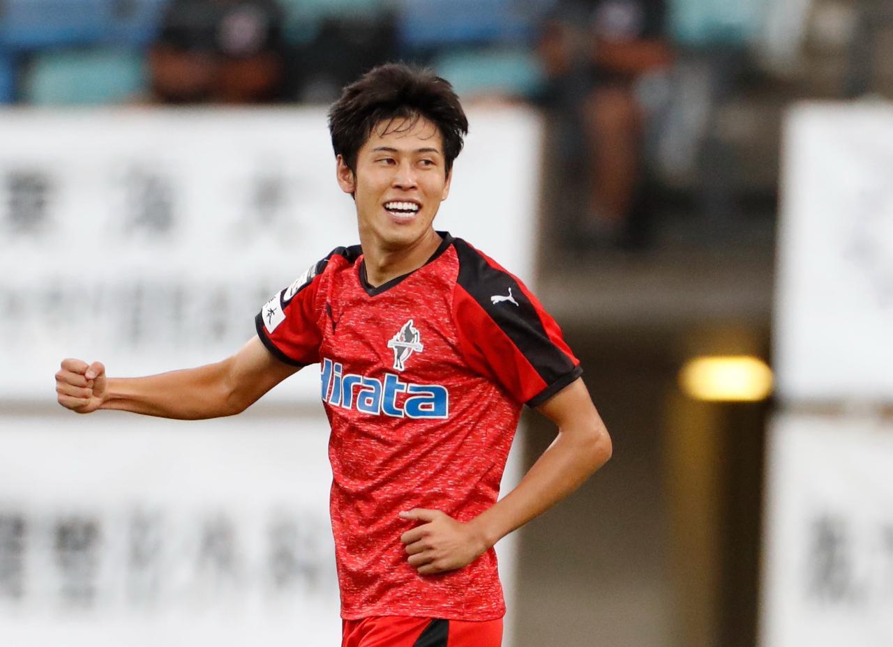 新潟】J3得点王の谷口海斗を完全移籍で獲得。「チームの力になれるように全力で」 - サッカーマガジンWEB