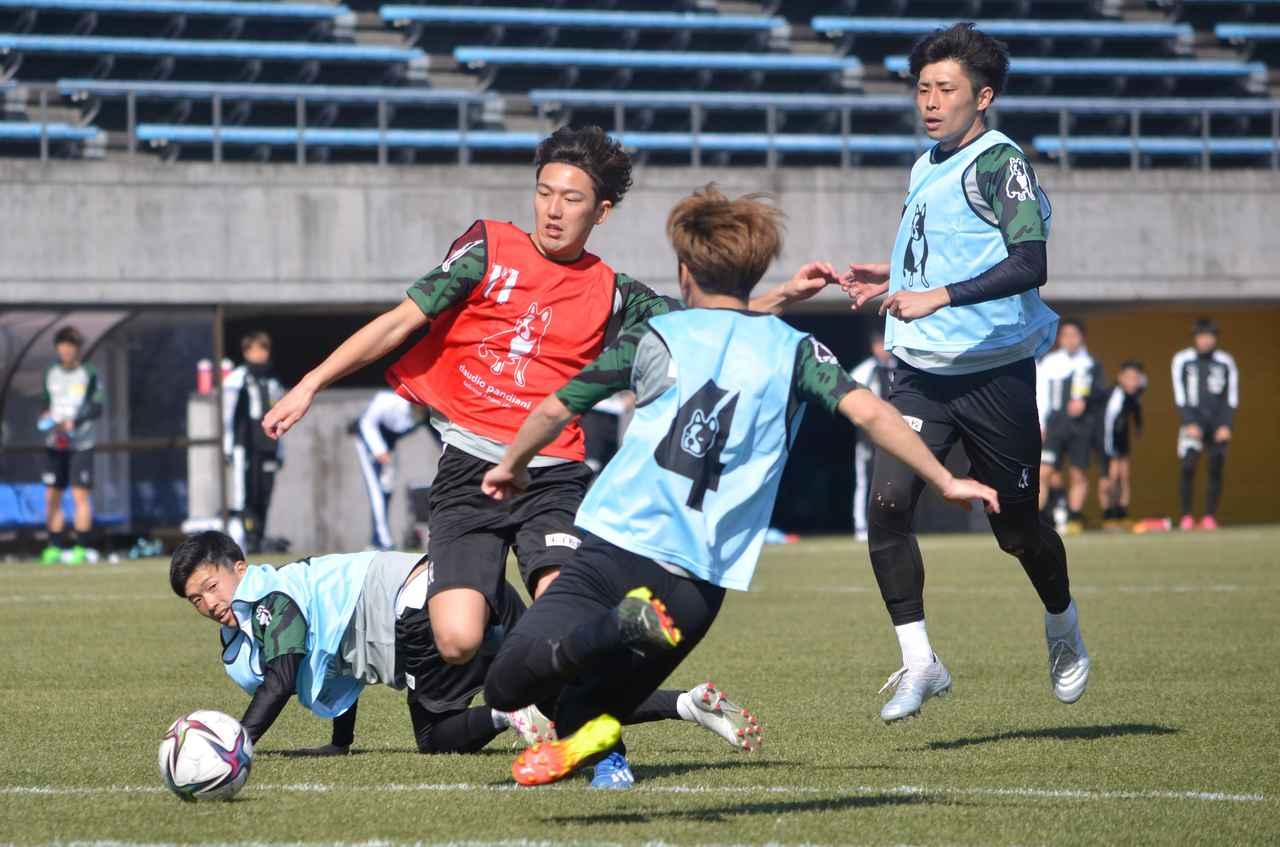 Images : 3番目の画像 - 【試合写真】一般にも公開された鳥取の紅白戦(写真◎石倉利英) - サッカーマガジンWEB
