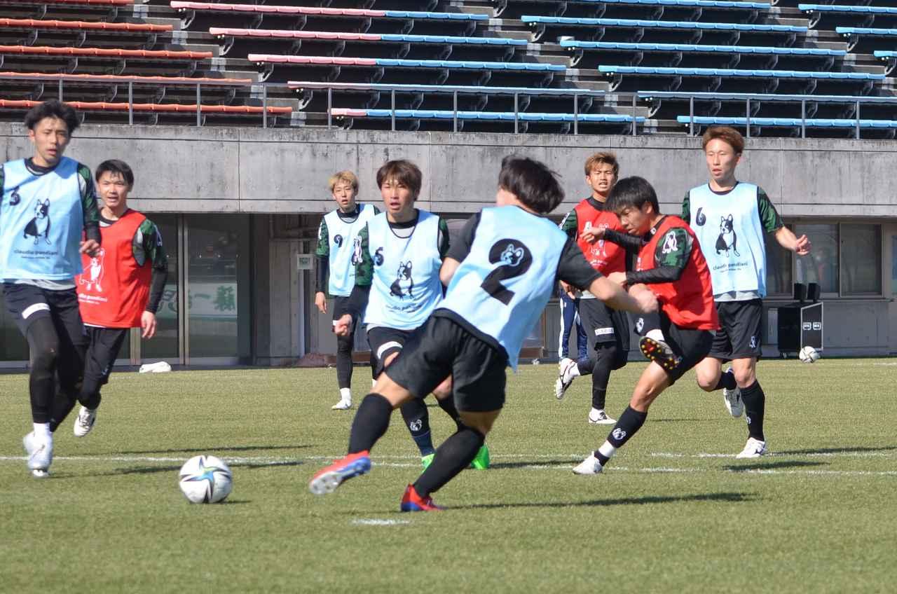 Images : 4番目の画像 - 【試合写真】一般にも公開された鳥取の紅白戦(写真◎石倉利英) - サッカーマガジンWEB