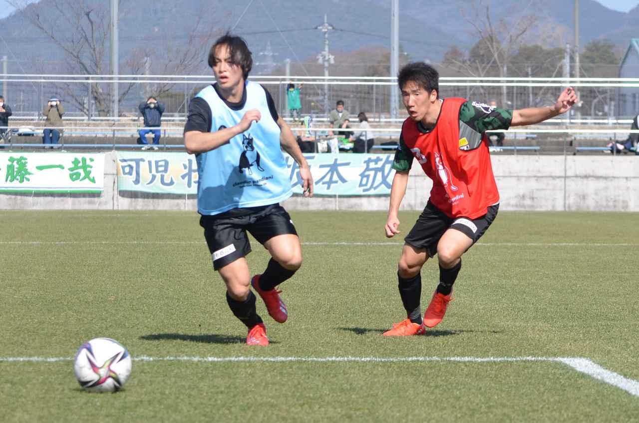 Images : 5番目の画像 - 【試合写真】一般にも公開された鳥取の紅白戦(写真◎石倉利英) - サッカーマガジンWEB