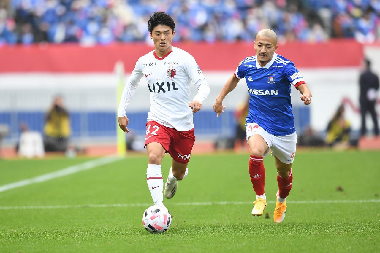 Images : 1番目の画像 - 昨季、横浜F・マリノス戦でJ1デビューした常本佳吾(写真◎Getty Images) - サッカーマガジンWEB