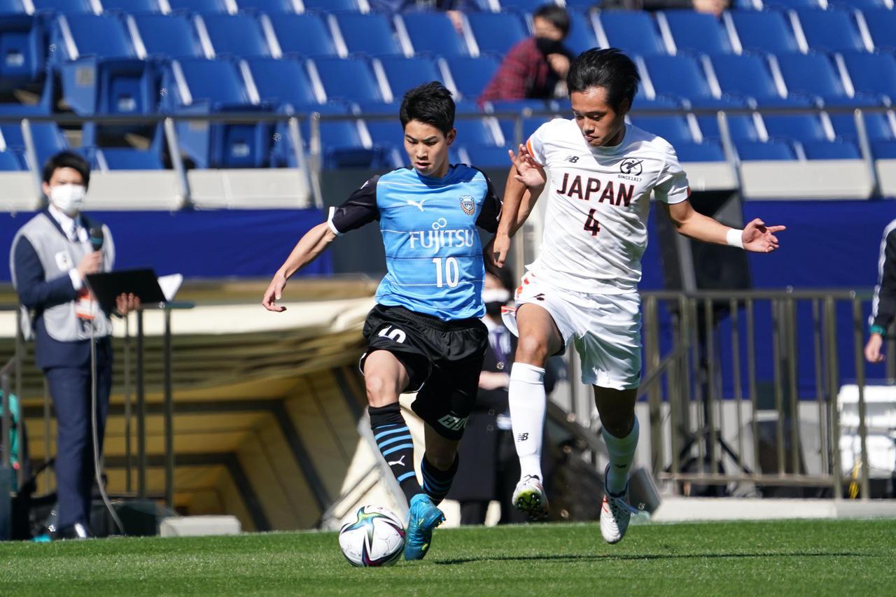 Images : 4番目の画像 - 【写真】高校選抜を2-1で下した川崎フロンターレU-18の選手たちをプレーバック(写真◎小山真司) - サッカーマガジンWEB
